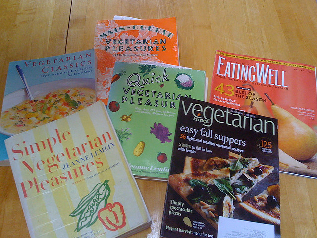 Vegetarian diet cookbooks